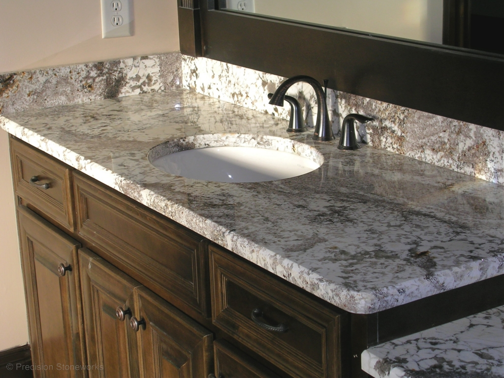 Ic stone and granite jdc stoneworks - Black marble bathroom countertops ...